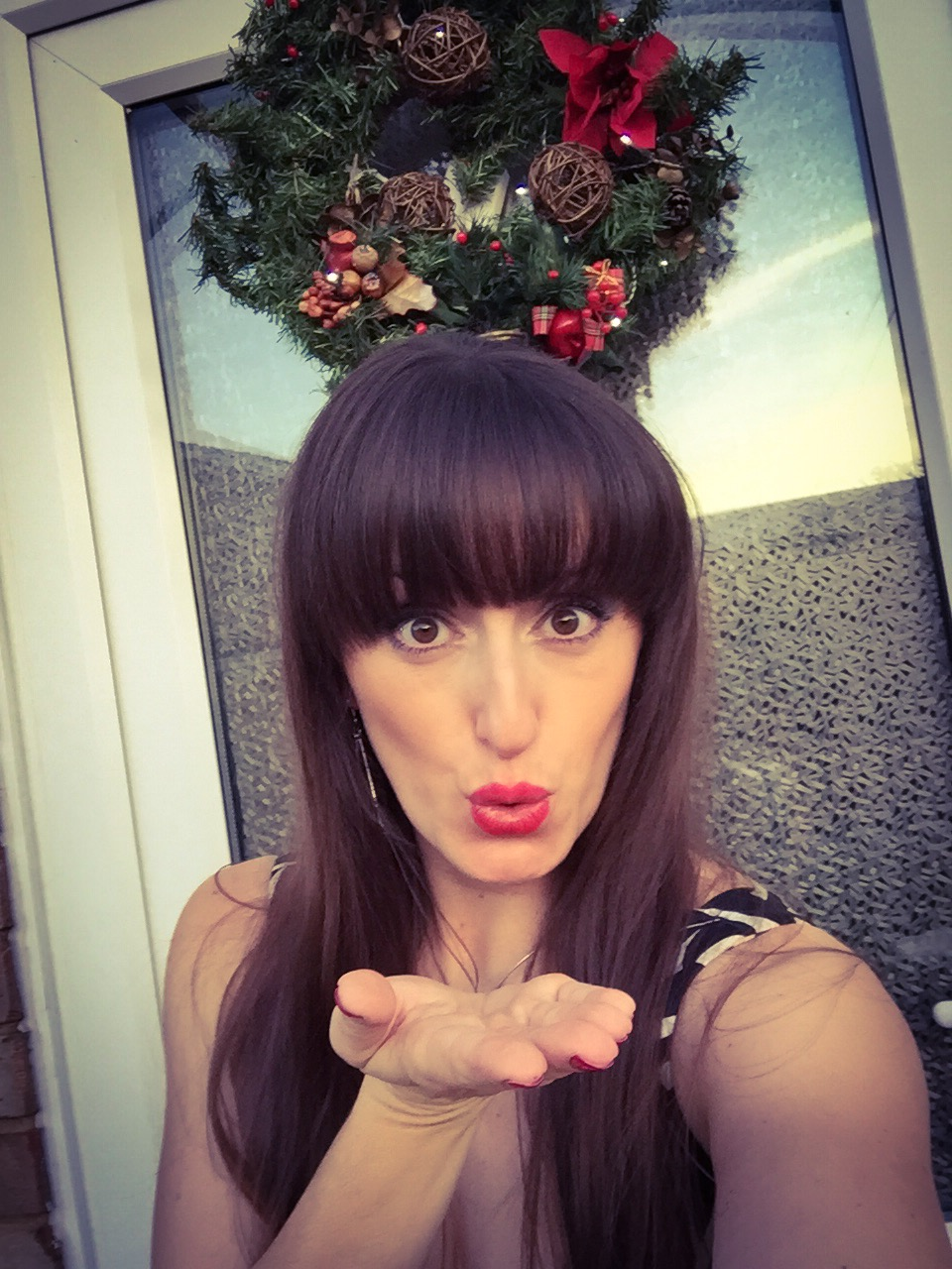 Christmas kisses from your dance instructor xxx